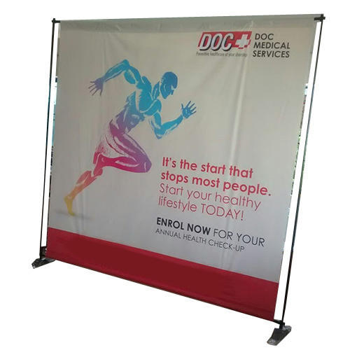 Expo Stand Backdrop : Event backdrop stand for for advertising rs 3650 piece id