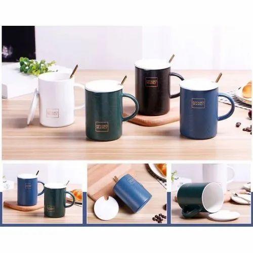 Mumbai From With Spoon Coffee Mug Importer Lid AR5L4j
