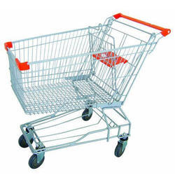 Supermarket Trolley with Wheel