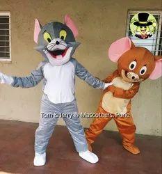 Fur Velvet Tom and Jerry Mascot Costume