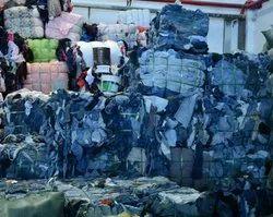 Cotton Mix Colour Denim Waste