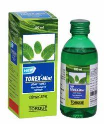Torex Mint Cough Syrup, 100 ml