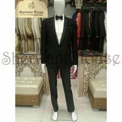 2-Piece Suit Party Black Italian Tuxedo Suit