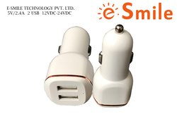 Double USB Smart Car Charger