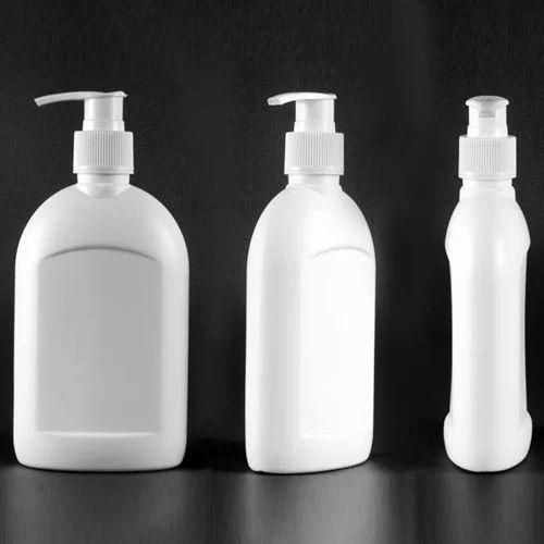 White 250ml/24mm HDPE Flat Hand Wash Bottle, Yasharyn ...