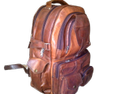 Genuine Leather Smart Backpack