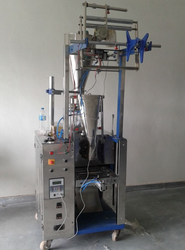 Semi Automatic Steel Pneumatic FFS Machine, Capacity: 0-500 pouch per hour