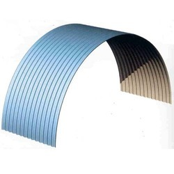 Colour Coated Curve Sheet