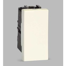Euro White ABB IVIE IIS11610 AN 16A 1 Way Electric Switch, 230 V