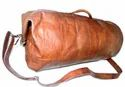 Genuine Leather Military Duffel Bag