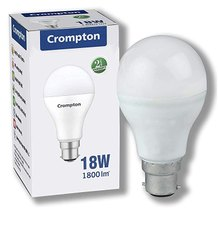 Crompton 18w B22 White LED Bulb