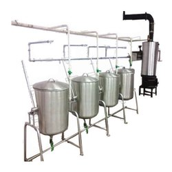Silver Stainless Steel Steam Cooking, for Restaurant