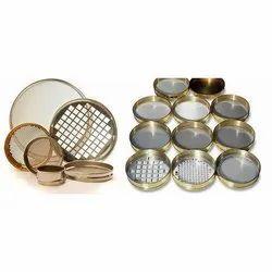Golden Aluminium Alloy Testing Sieves, For Lab