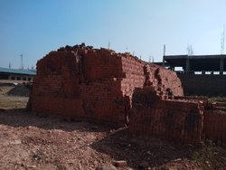 Amn Rectangular Red Bricks For Home, Size: 9x4x3 Inches