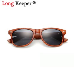 without brand Aviator Wooden Sunglasses For Men