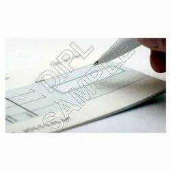20073 MICR Cheque Book