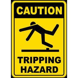 Industrial Hazard Sign