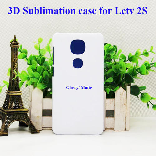 White Plastic Sublimation Plain Back Cover For Samsung LETV Le 2 / Le 2s