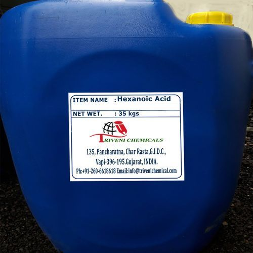 Industrial Liquid Hexanoic Acid