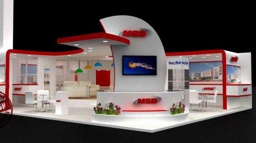 Wedding Exhibition Stall : Exhibition event d design exterior rendering export