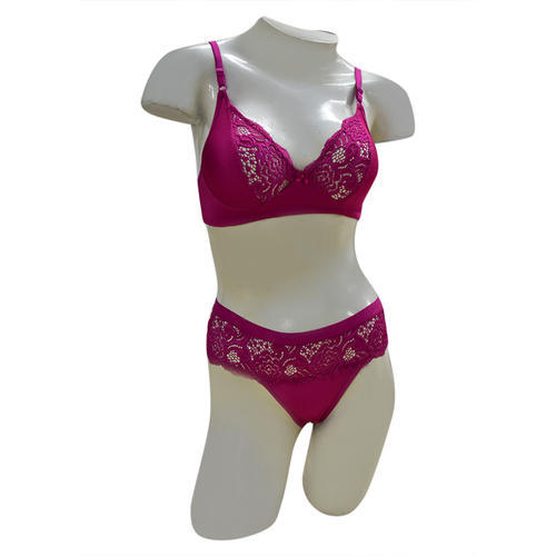 Cotton Regular Fancy Bra Panty Set 9f47458da