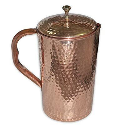 Hammered Copper Jug, Packaging Type: Box