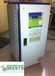 Servo Controlled Voltage Stabilizer For Houses