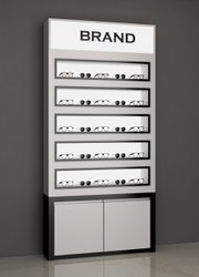 Wall Unit Display For Eyewear