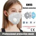 KN - 95 Face Mask Imported (With Respirator Nose Band)