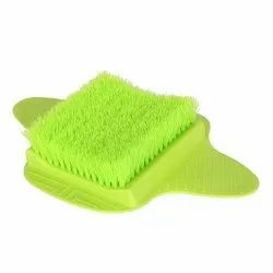 Bathroom Foot Brush Cleaning Slipper Massage Scrubber with Sucker
