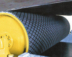 Diamond Grooved Drum Pulley Lagging Sheet