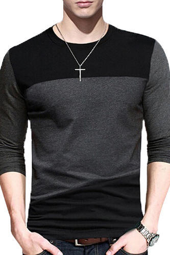 7aa03a54ece5 Downtown Fashion Mens Stylish Premium Cotton Full Sleeve, Men Long ...