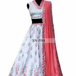 Heavy Exclusive Indian Designer Lahenga Choli With Blouse Party Wear Lahenga Choli