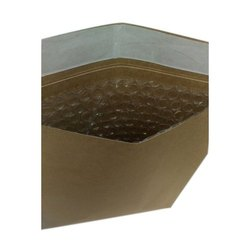 Brown Paper and PP Plain Padded Envelope, For Courier