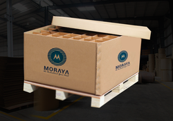 Heavy Duty Corrugated Pallet Box