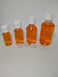 PET Transparent Plastic Bottles, Screw Cap, Capacity: 60ml