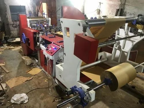 42 Inch Roll Size Paper Bag Making Machine
