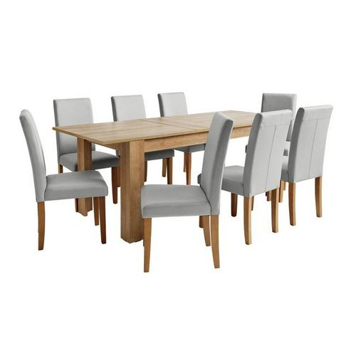 1 Table 8 Chairs Wooden Dining Table Set Rs 45000 Set Ajit Singh Sons Id 21639999130