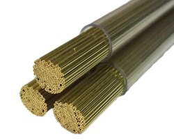 Brass Electrode Tube, Length: 400 mm
