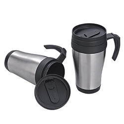 Plastic Travel Mugs with Handle