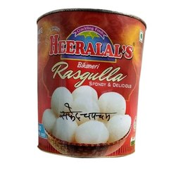 Heera Lal's Heeralal Packaged White Chamcham Rasgulla, Packaging Size: 4 Kg