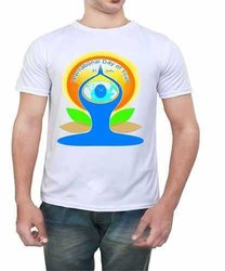 Custom Printed Yoga Tshirts