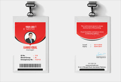 Office Employee PVC ID Card