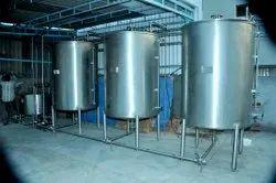 Soft Serve Ice Cream Machines Automatic Most Economical Juice Plant, 20 to 30 litres per hour