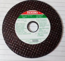 Hitachi Brown Cutting Wheel 4, Thickness: 4x2mm Thik