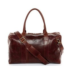 DB02 Cow Nappa Leather Travel Bag