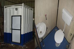 Portable Mobile Toilet Cabins