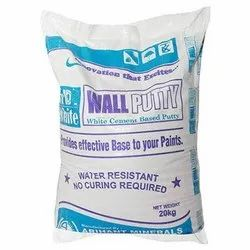 SD White Wall Putty, Packaging Size: 20 Kg, Packaging Type: Packet
