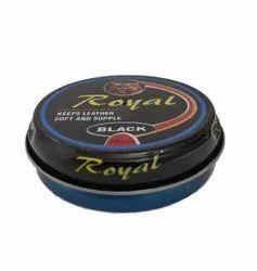 Royal Wax Shoe Polish Press Open