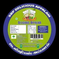 Salty Polythene Pouch Appalam Papad